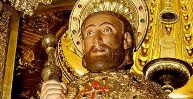Restos del Apostol Santiago de Compostela