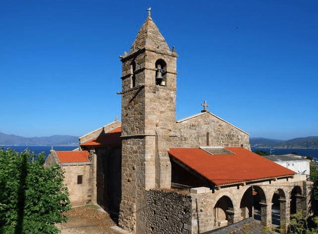 Visitar Iglesia Santa María Dos Areas