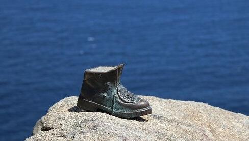 Conoce bota de hierro de los peregrinos