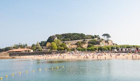 mejores playas en baiona