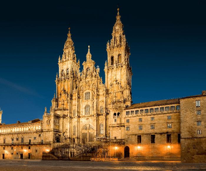 Visista la Catedral de Santiago de Compostela