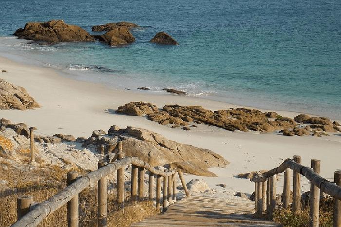 Viaja a Playa de Rodas en Islas Cíes