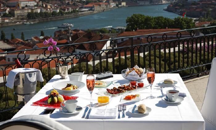 disfruta mejores desayunos en hoteles en oporto