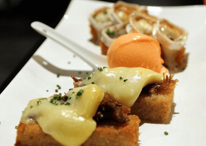 Comer en El De Alberto en A Coruña