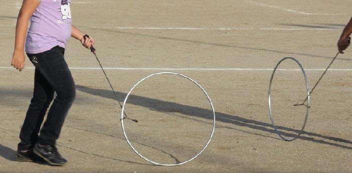 aro tipo de juego tradicional gallego