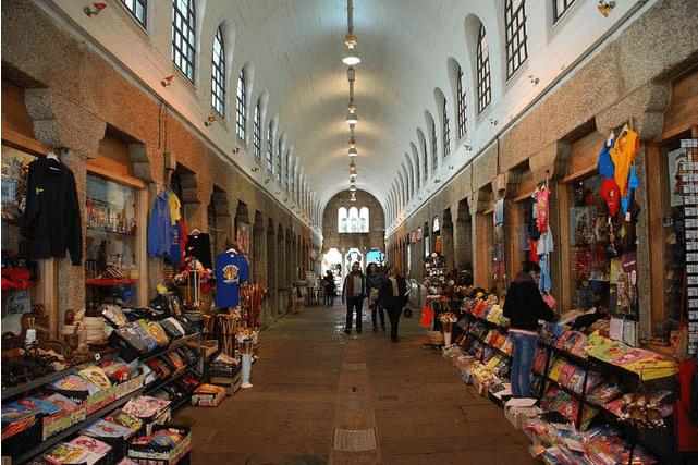 Ir al Mercado de Santiago de Compostela