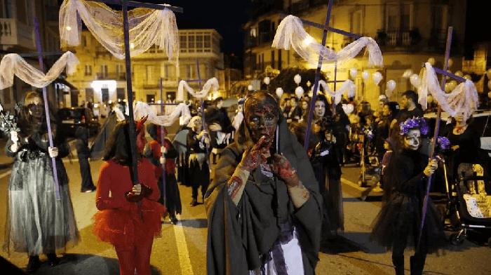 Celebración de Samaín en Ribadavia