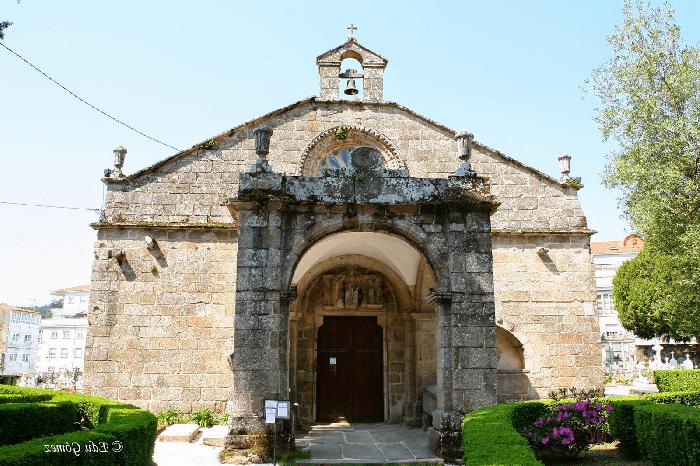 Visita la iglesia Santa María a Nova en Noia