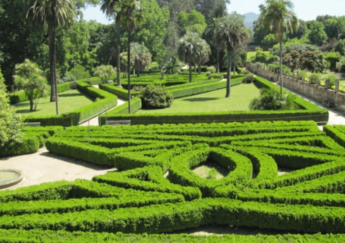 Visita el  Jardín Francés