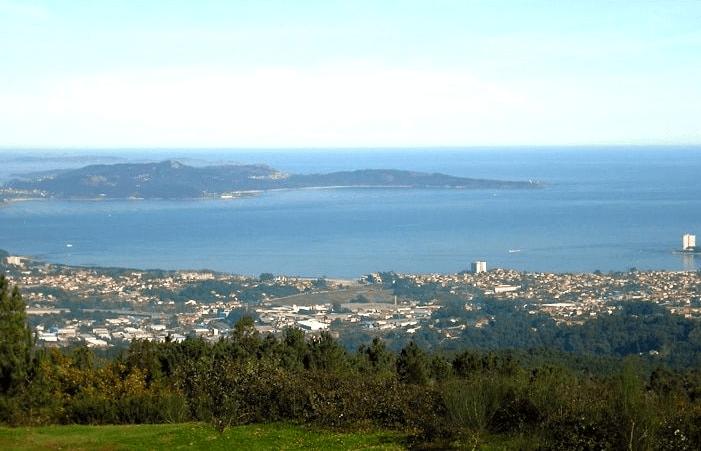 Viista la Ruta panoramica de Vigo.