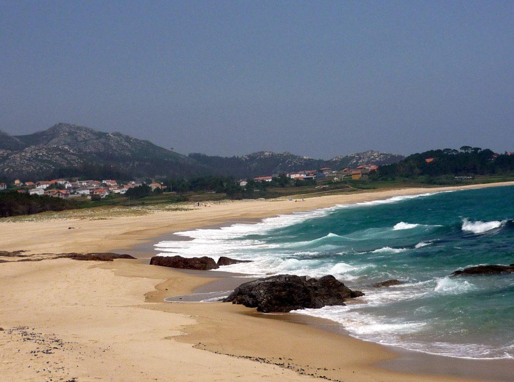 a coruña playa as furnas galicia