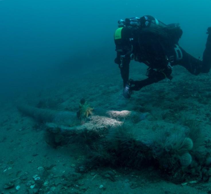 mayor cementerio de barcos hundidos del mundo