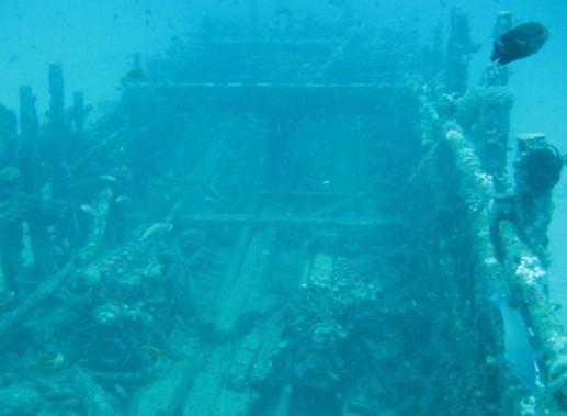 Un gigantesco cementerio de barcos