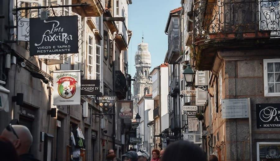 El Casco Viejo de Santiago de Compostela