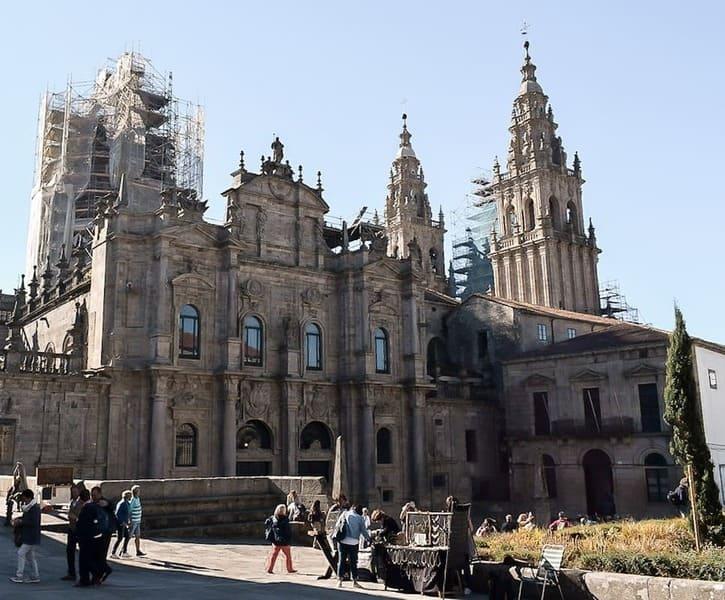 Caminando hacia Santiago de Compostela