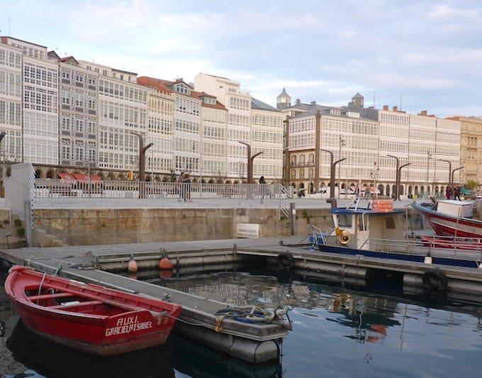 Ciudad de A Coruña, un lugar distinto de España