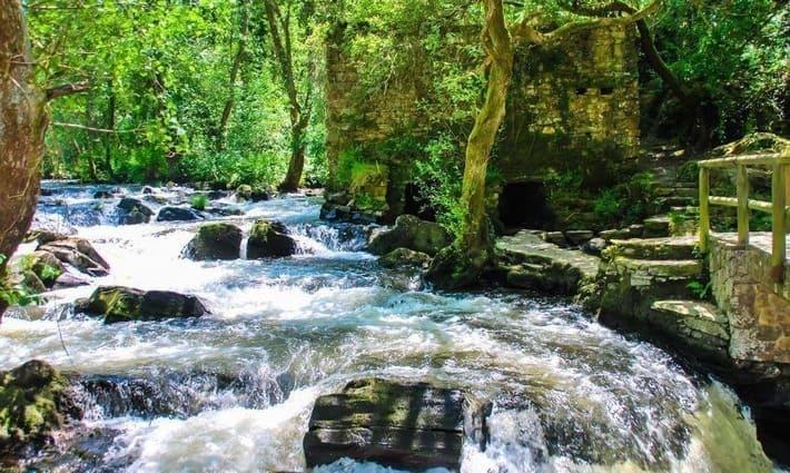 Cascadas en Galicia ocultas