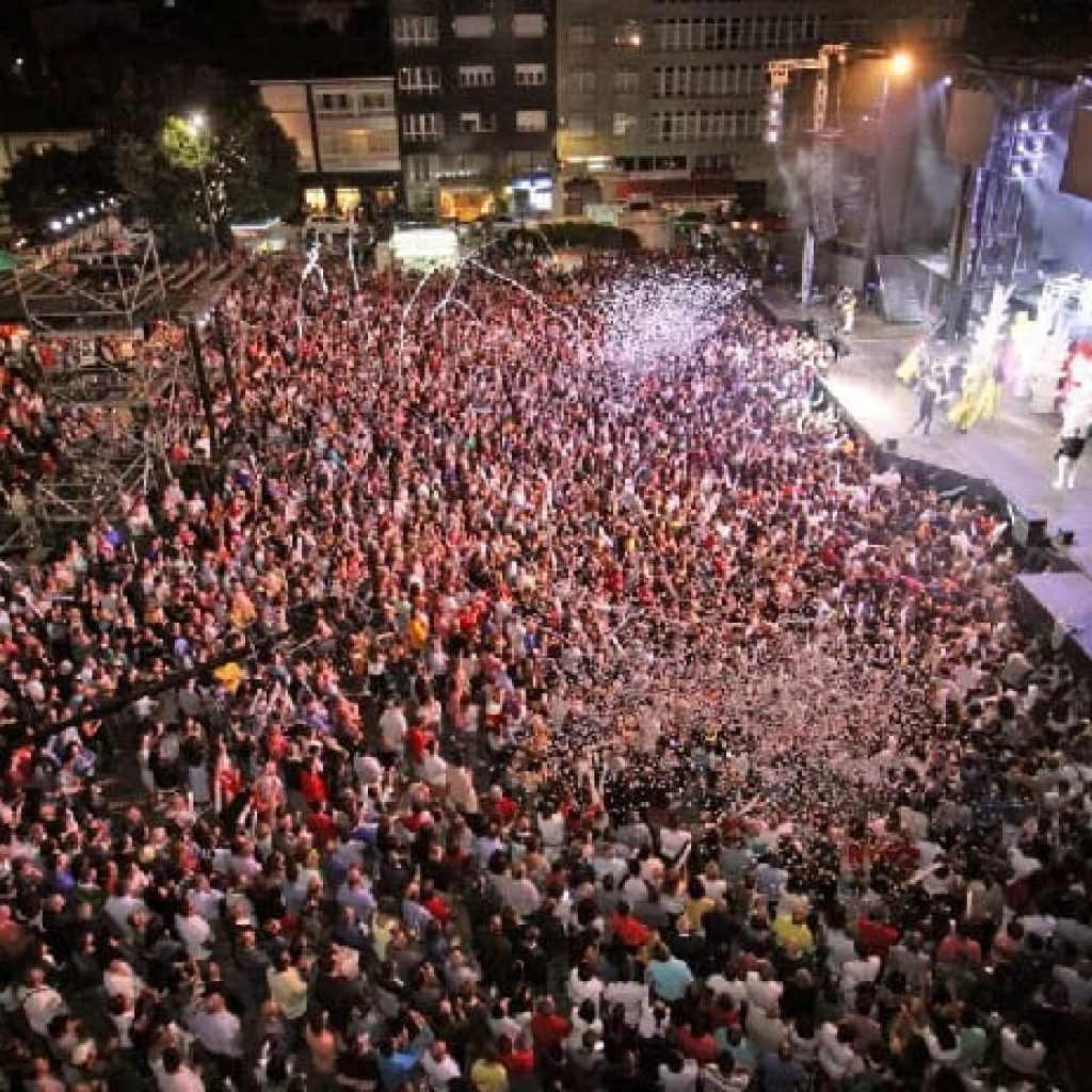 Fiestas de verano en Galicia